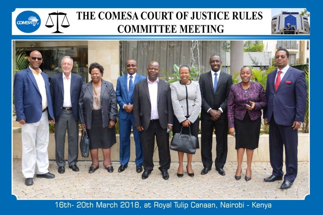 COMESA Court of Justice Holds Arbitration Rules Review Meeting