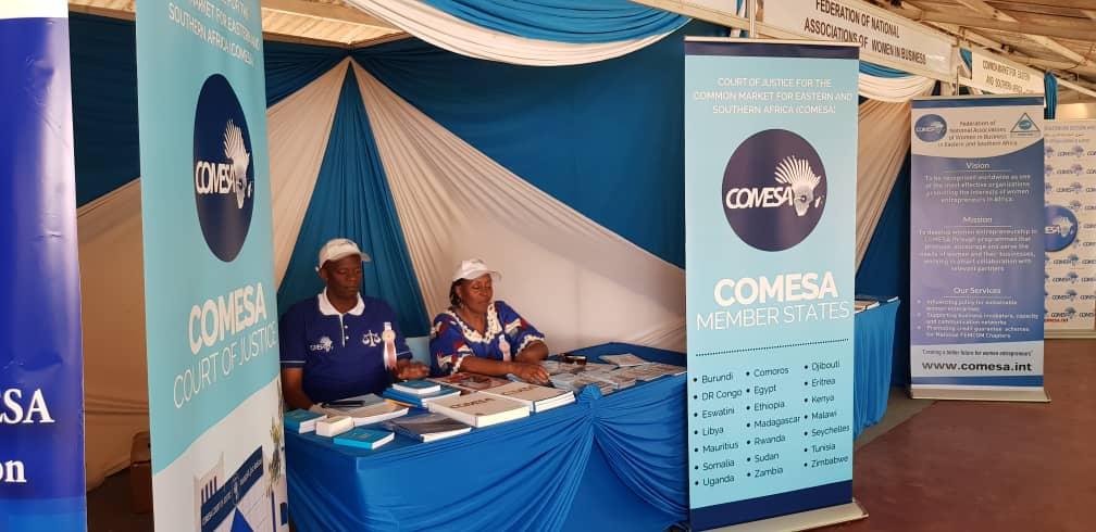 COMESA Court of Justice participates in International Trade Fair at Nairobi, Kenya